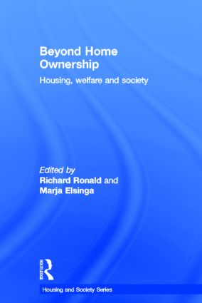 Beyond Home Ownership: Housing, Welfare and Society book cover
