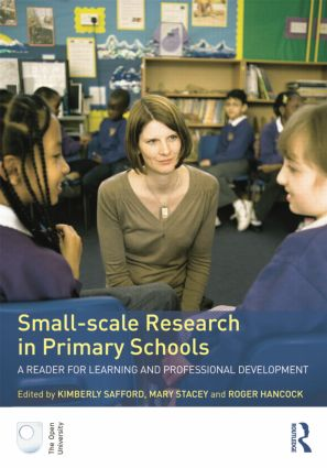 Small-Scale Research in Primary Schools: A Reader for Learning and Professional Development (Paperback) book cover