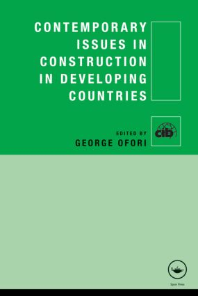 Contemporary Issues in Construction in Developing Countries (Hardback) book cover