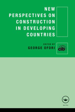 New Perspectives on Construction in Developing Countries (Hardback) book cover