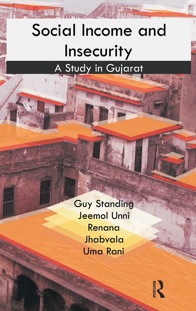 Social Income and Insecurity: A Study in Gujarat (Hardback) book cover