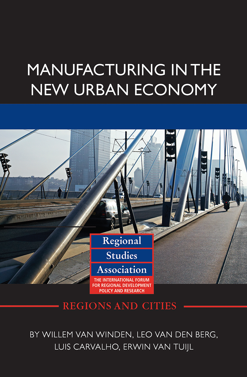 Manufacturing in the New Urban Economy (Hardback) book cover