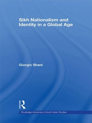 Sikh Nationalism and Identity in a Global Age (Paperback) book cover