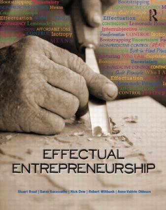 Effectual Entrepreneurship (Paperback) book cover