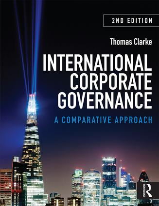 International Corporate Governance: A Comparative Approach, 2nd Edition (Paperback) book cover