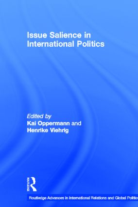 Issue Salience in International Politics (Hardback) book cover