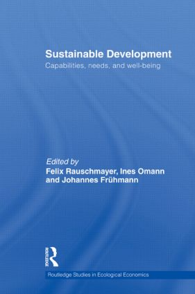 Sustainable Development: Capabilities, Needs, and Well-being book cover