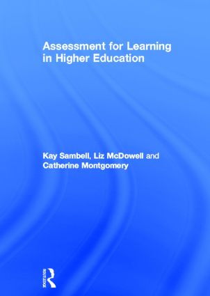 Assessment for Learning in Higher Education: 1st Edition (Hardback) book cover