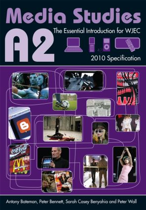 A2 Media Studies: The Essential Introduction for WJEC (Paperback) book cover