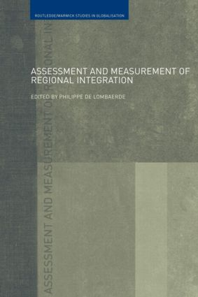 Assessment and Measurement of Regional Integration (Paperback) book cover