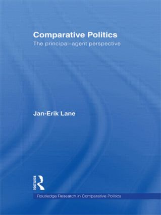 Comparative Politics: The Principal-Agent Perspective (Paperback) book cover