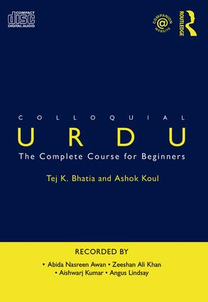 Colloquial Urdu: The Complete Course for Beginners book cover