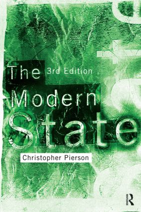 The Modern State: 3rd Edition (Paperback) book cover