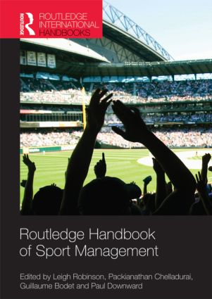 Routledge Handbook of Sport Management (Hardback) book cover