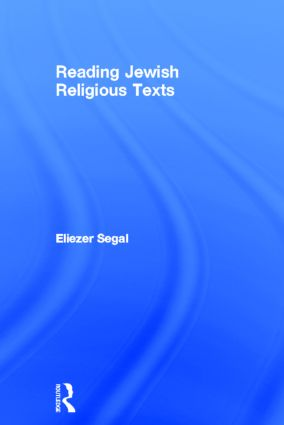 Reading Jewish Religious Texts book cover