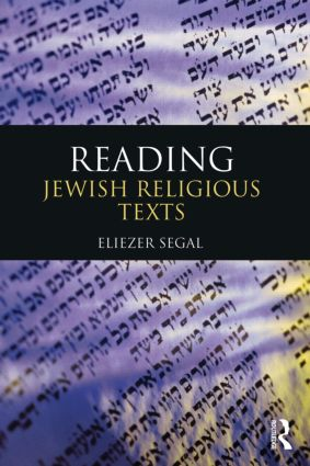 Reading Jewish Religious Texts (Paperback) book cover