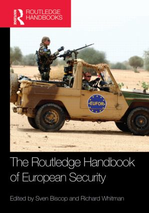 The Routledge Handbook of European Security: 1st Edition (Hardback) book cover