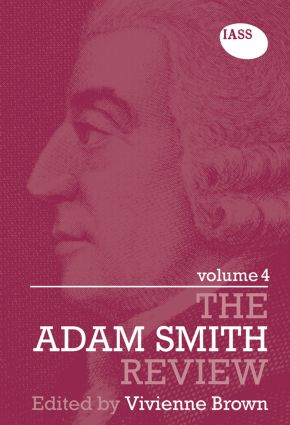 The Adam Smith Review Volume 4 (Paperback) book cover