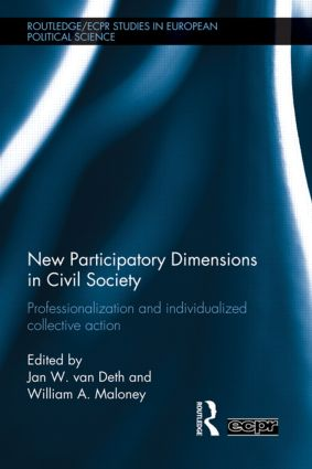 New Participatory Dimensions in Civil Society: Professionalization and Individualized Collective Action (Hardback) book cover