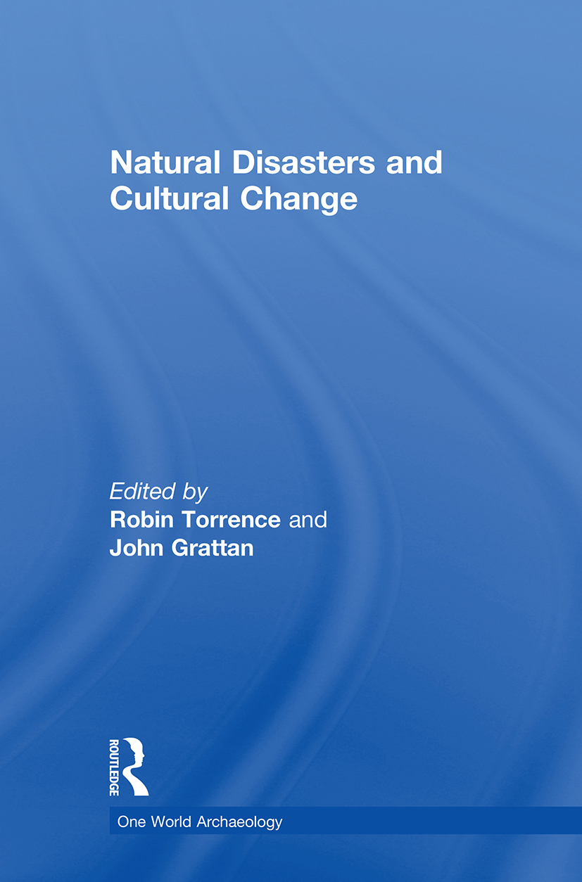Natural Disasters and Cultural Change (Paperback) book cover