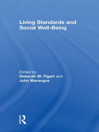 Living Standards and Social Well-Being: 1st Edition (Hardback) book cover