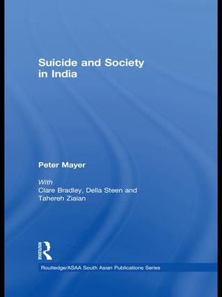 Suicide and Society in India (Hardback) book cover