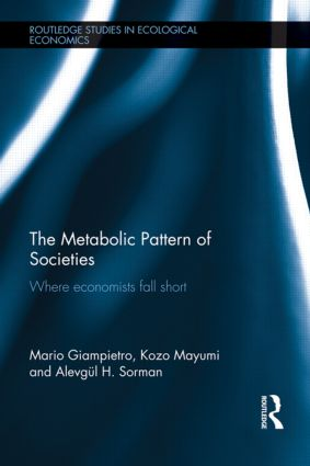 The Metabolic Pattern of Societies: Where Economists Fall Short (Hardback) book cover