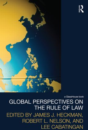 Global Perspectives on the Rule of Law (Paperback) book cover