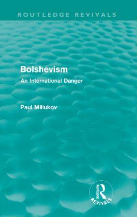 Bolshevism (Routledge Revivals)