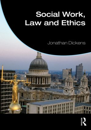 Social Work, Law and Ethics (Paperback) book cover