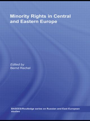 Minority Rights in Central and Eastern Europe (Paperback) book cover