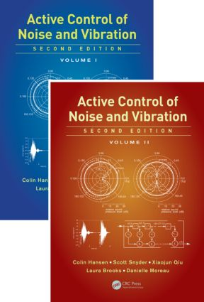Active Control of Noise and Vibration: 2nd Edition (Hardback) book cover