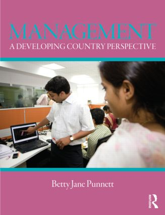Management: A Developing Country Perspective (Paperback) book cover