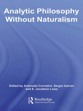 Analytic Philosophy Without Naturalism (Paperback) book cover