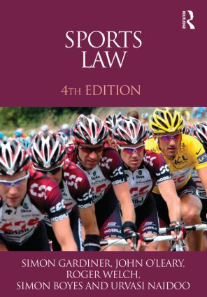 Sports Law: 4th Edition (Paperback) book cover