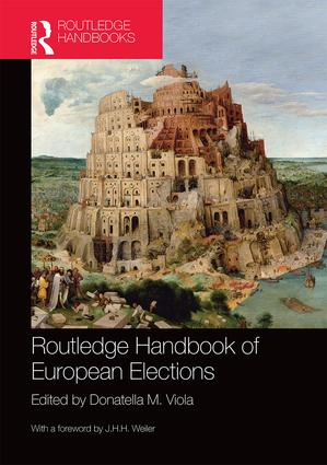 Routledge Handbook of European Elections: 1st Edition (Hardback) book cover