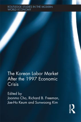 The Korean Labour Market after the 1997 Economic Crisis (Hardback) book cover