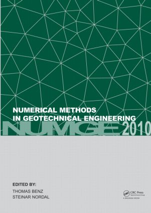 Numerical Methods in Geotechnical Engineering: (NUMGE 2010), 1st Edition (Hardback) book cover