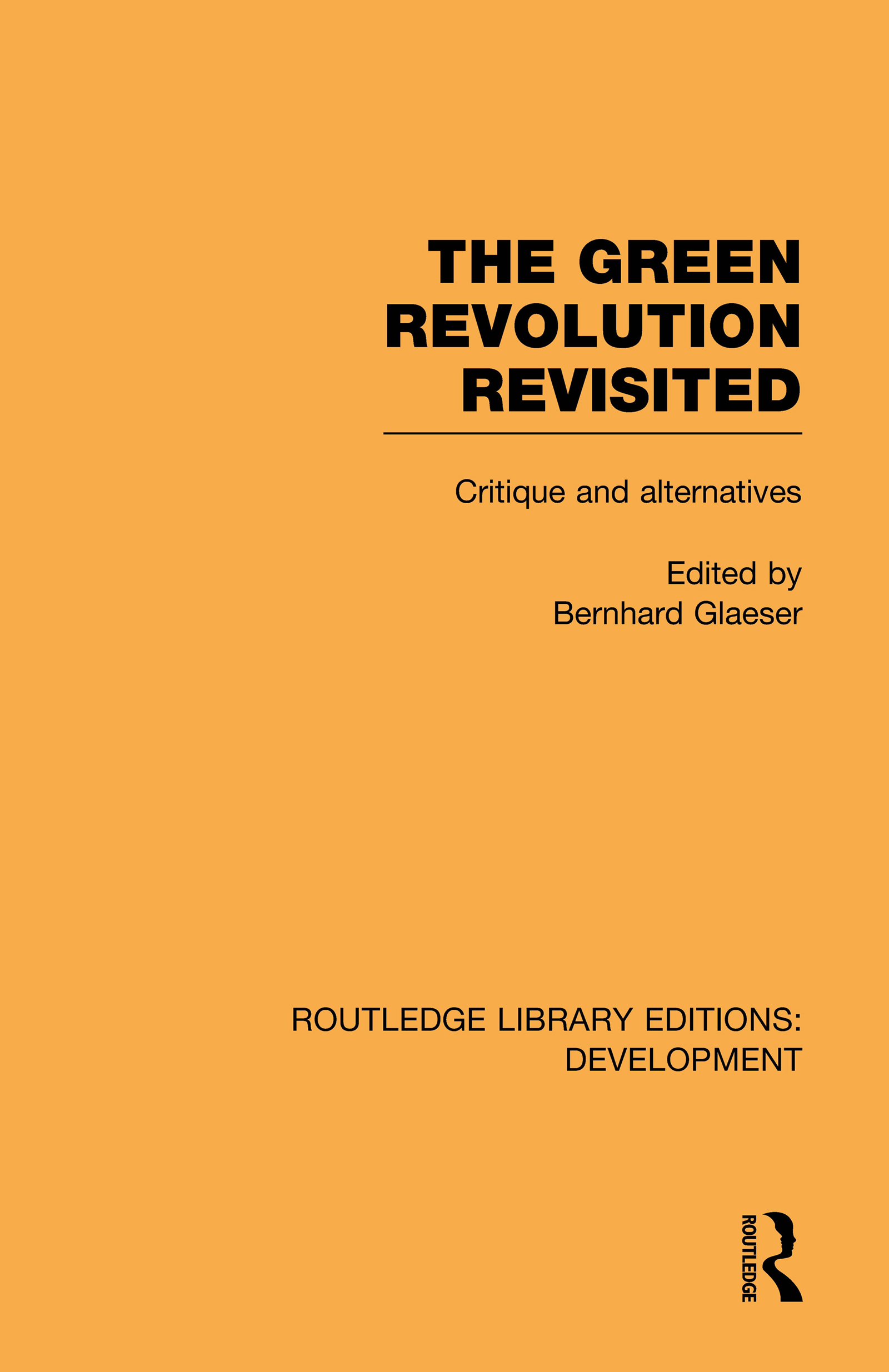 The Green Revolution Revisited