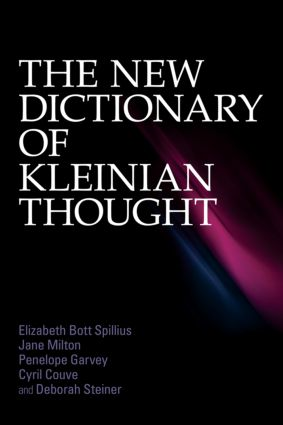 The New Dictionary of Kleinian Thought (Paperback) book cover