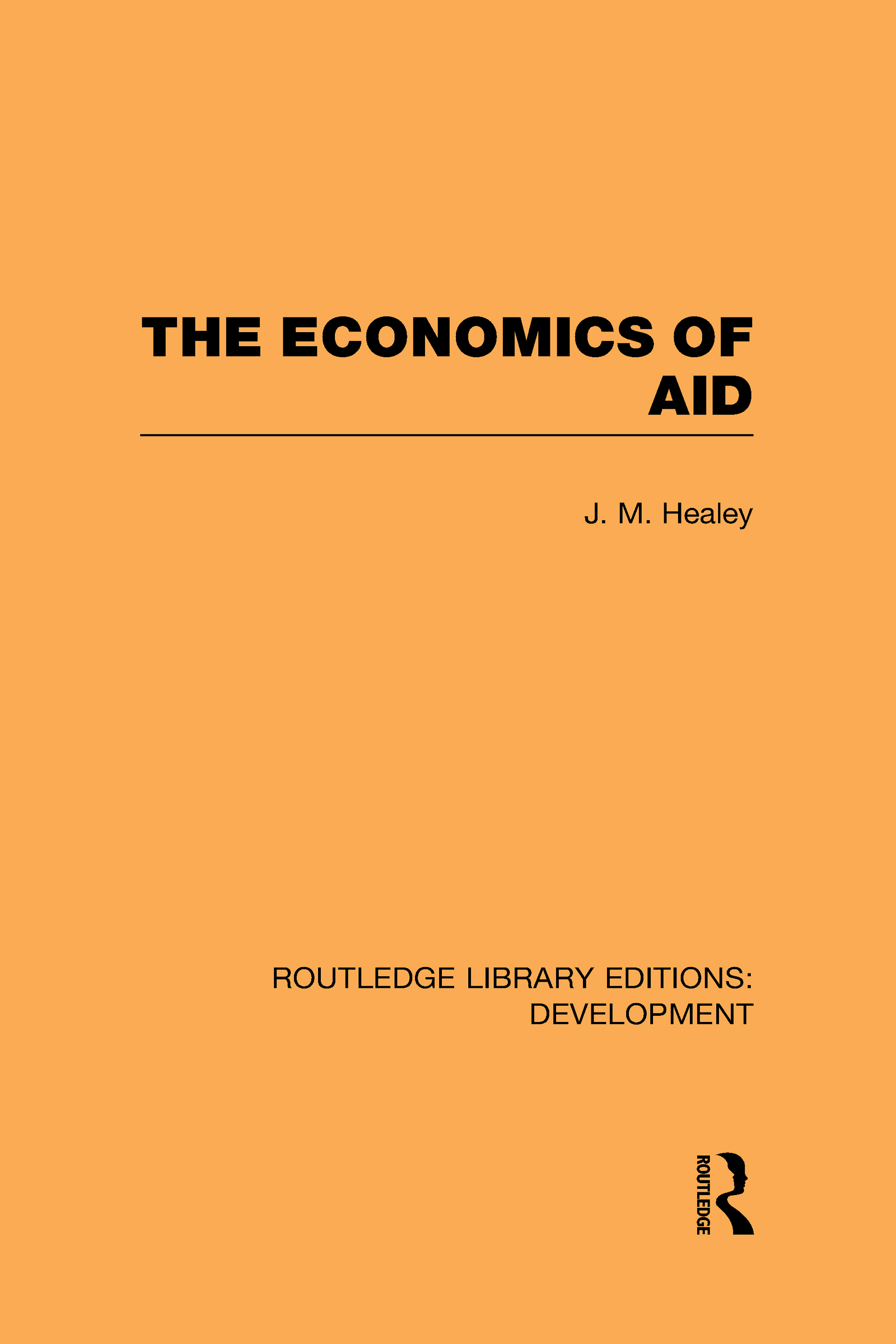 The Economics of Aid (Hardback) book cover