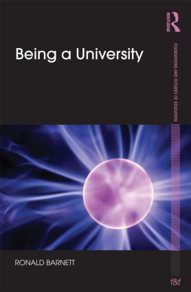 Being a University: 1st Edition (Paperback) book cover