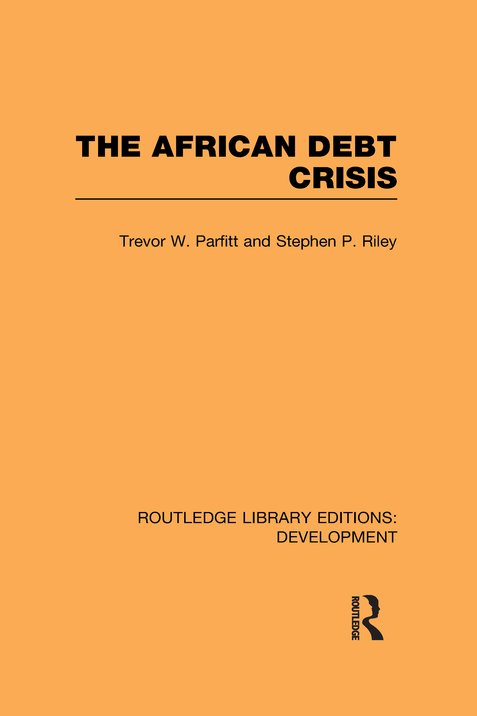 The African Debt Crisis (Hardback) book cover