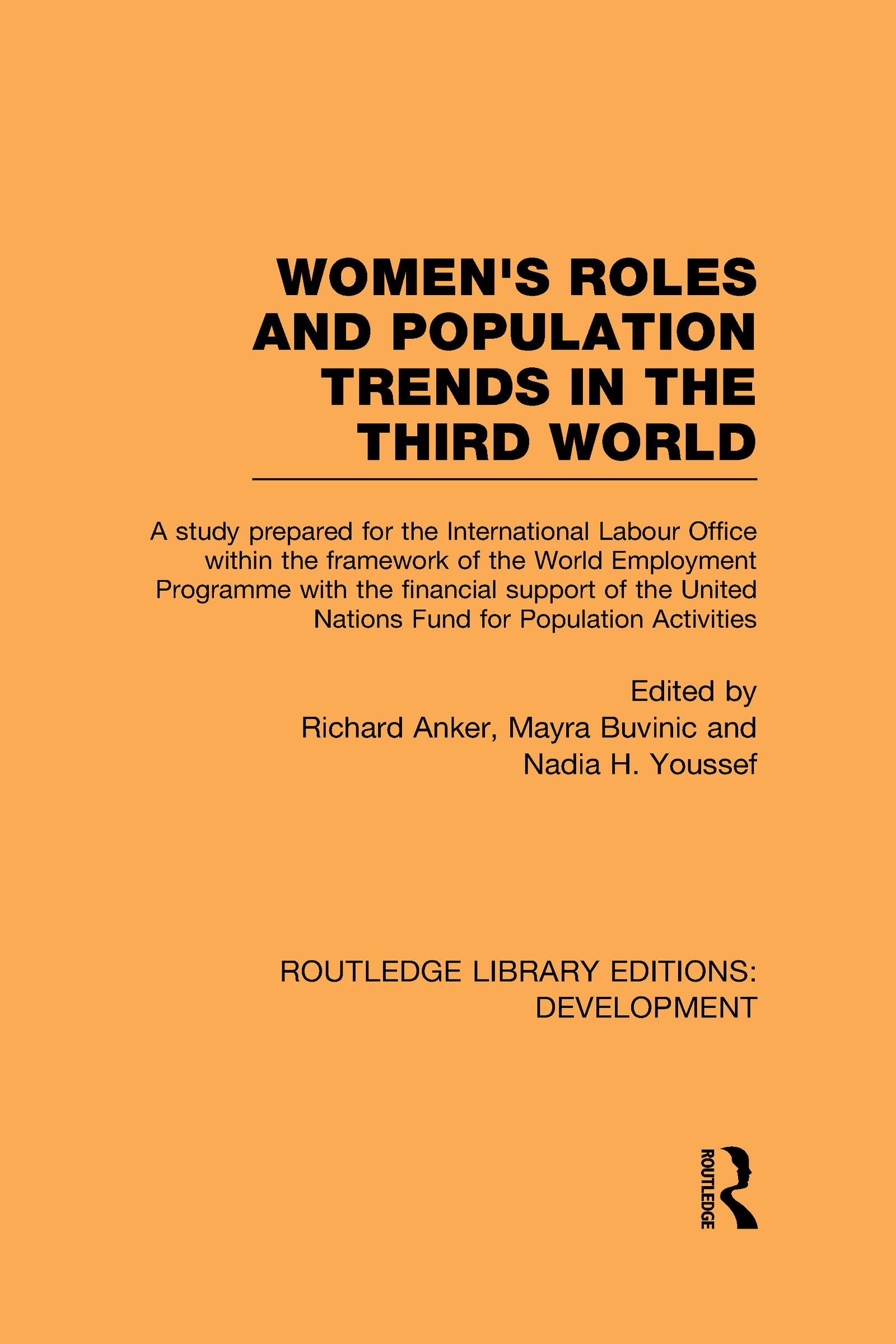 Womens' Roles and Population Trends in the Third World (Hardback) book cover