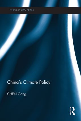 China's Climate Policy (Hardback) book cover