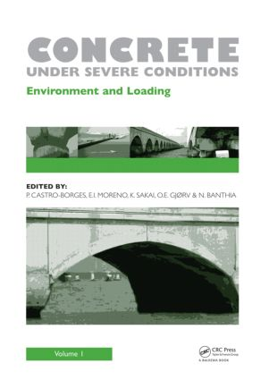 Concrete Under Severe Conditions, Two Volume Set: 1st Edition (Hardback) book cover