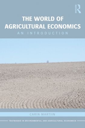 The World of Agricultural Economics: An Introduction book cover