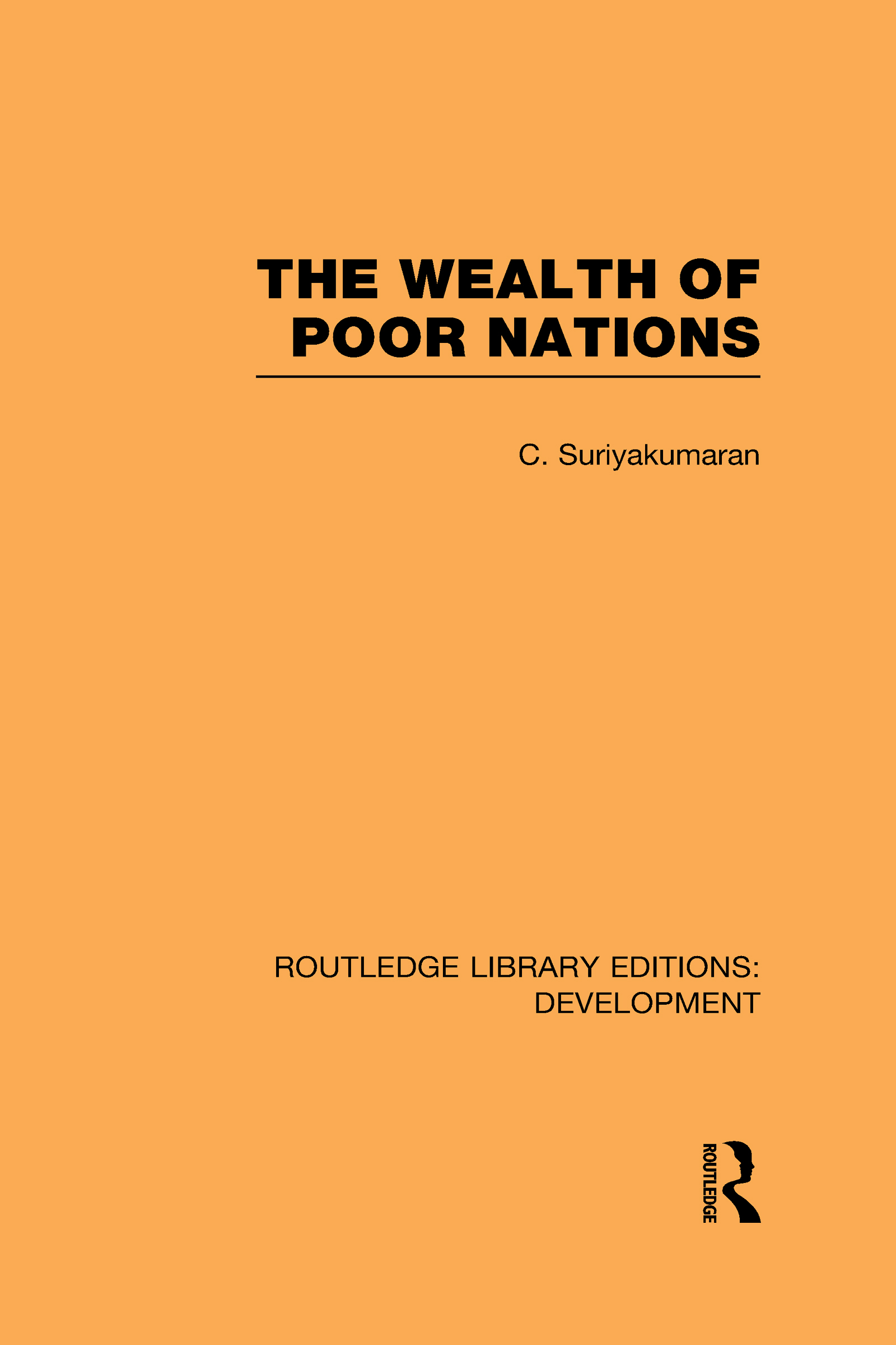 The Wealth of Poor Nations (Hardback) book cover