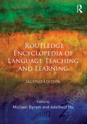 Routledge Encyclopedia of Language Teaching and Learning: 2nd Edition (Hardback) book cover