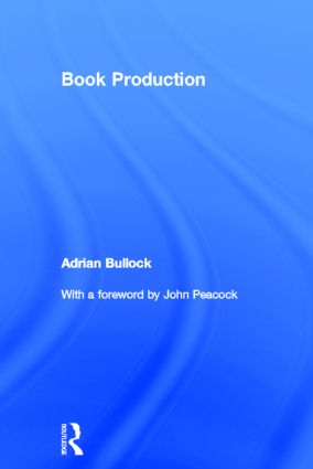 Book Production: 1st Edition (Hardback) book cover
